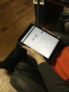 Webmaster Tests Google on Tablet